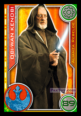 PaxToy.com - 036 Obi-Wan Kenobi из Carrefour: Star Wars El Camino De Los Jedi (Cards)