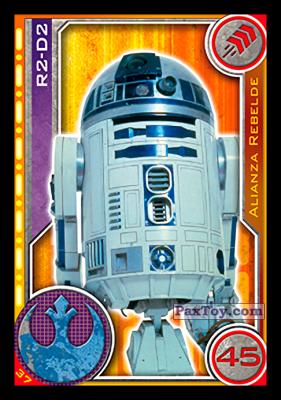 PaxToy.com - 037 R2-D2 из Carrefour: Star Wars El Camino De Los Jedi (Cards)