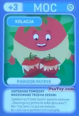 PaxToy.com - 038 Pomidor Patryk (Kolacja) из Biedronka: Gang Swieżaków 1 - Karty i Naklejki