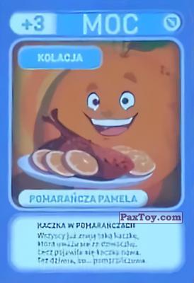 PaxToy.com - 039 Pomarancza Pamela (Kolacja) из Biedronka: Gang Swieżaków 1 - Karty i Naklejki