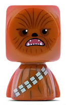 PaxToy.com - 04 Chewbacca из Continente: Star Wars Force Attax Bustz