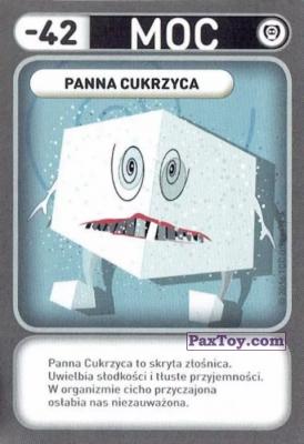 PaxToy.com - 041 Panna Cukrzyca (Choroby) из Biedronka: Gang Swieżaków 1 - Karty i Naklejki