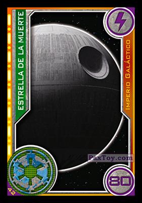 PaxToy.com - 042 Estrella De La Muerte из Topps: Star Wars El Camino De Los Jedi from Carrefour