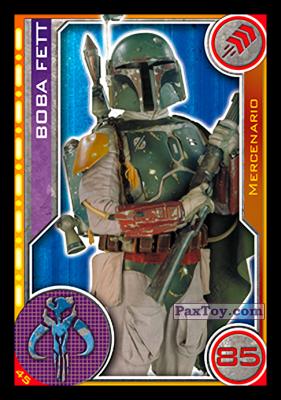 PaxToy.com - 045 Boba Fett из Topps: Star Wars El Camino De Los Jedi from Carrefour