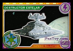 PaxToy.com - 048 Destructor Estelar из Topps: Star Wars El Camino De Los Jedi from Carrefour