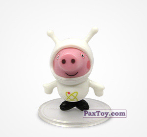 PaxToy.com - 05 Джордж космонавт из Choco Balls: Свинка Пеппа. Профессии.