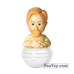 PaxToy.com - 05 Obi-Wan Kenobi из Carrefour: Star Wars Heroes y Villanos - Rollinz