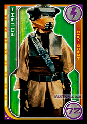 PaxToy.com - 050 Boushh из Topps: Star Wars El Camino De Los Jedi from Carrefour