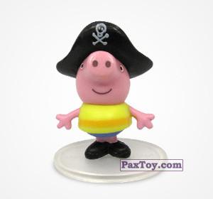 PaxToy.com - 06 Джордж пират из Choco Balls: Свинка Пеппа. Профессии.