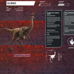 PaxToy 06 GALLIMIMUS