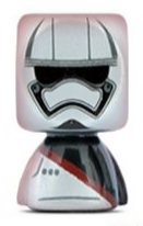 PaxToy.com - 07 Capitao Phasma из Continente: Star Wars Force Attax Bustz