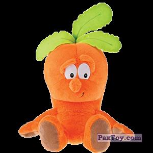 PaxToy.com - 07 MARCHEWKA MARYSIA из Biedronka: Gang Swieżaków 1 - Pluszowe zabawki