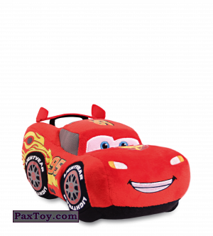 PaxToy.com  Мягкая игрушка 07 Молния МакКуин из Корона: Плюшевая команда