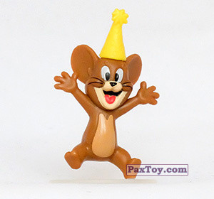PaxToy.com - 07 Праздничный Джерри (Фигурка) из Choco Balls: Том и Джерри