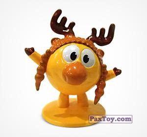 PaxToy.com  Фигурка 08 Лосяш из Choco Balls: Смешарики Легенда о Золотом Драконе