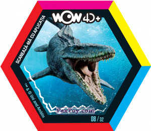 PaxToy.com - 08 Mosasaur из Carrefour: Jurassic World