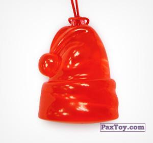 PaxToy.com - 08 Новогодний колпак из Choco Balls: Новогодняя коллекция 2015