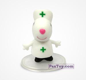 PaxToy.com - 08 Овечка Сюзи врач из Choco Balls: Свинка Пеппа. Профессии.