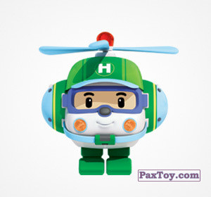 PaxToy.com - 09 Хэлли из Choco Balls: Робокар Поли