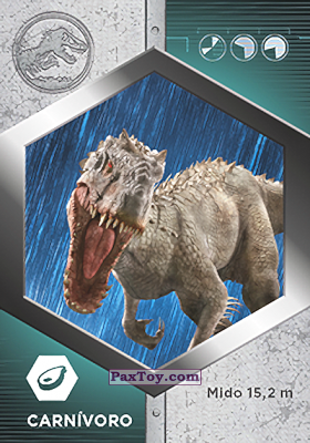 PaxToy.com - 09 Indominus Res из Supermercados DIA: Jurassic World - Cards