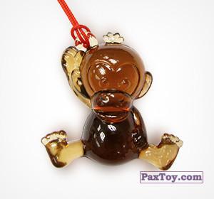 PaxToy.com - 09 Обезьянка из Choco Balls: Новогодняя коллекция 2015