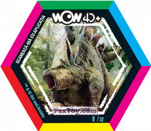 PaxToy.com - 11 Stegozaur из Carrefour: Jurassic World