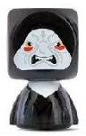 PaxToy.com  Blokhedz 12 Imperador Palpatine из Continente: Star Wars Force Attax Bustz