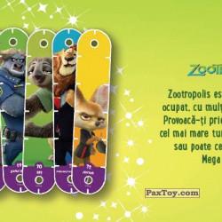 PaxToy 12 Zootropolis (Mega Popstix)