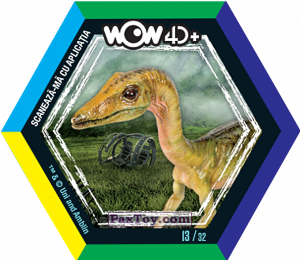 PaxToy.com - 13 Compsognathus (Сторна-back) из Carrefour: Jurassic World