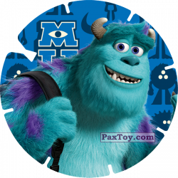 PaxToy 13   JAMES P. SULLIVAN (MONSTERS UNIVERSITY)