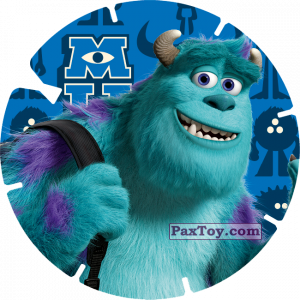 PaxToy.com - 13 - JAMES P. SULLIVAN (MONSTERS UNIVERSITY) из Mega Image: Super Flizz 1