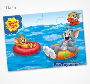 PaxToy.com - 13 Мирные каникулы (Пазл) из Choco Balls: Том и Джерри