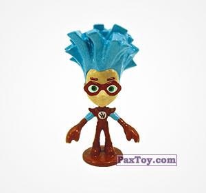 PaxToy.com  Фигурка 14 Новый Герой из Choco Balls: Фиксики. Большой секрет