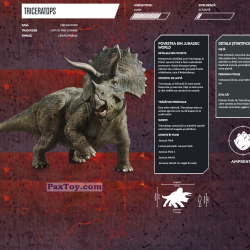 PaxToy 14 TRICERATOPS