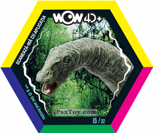 PaxToy.com - 15 Apatozaur (Сторна-back) из Carrefour: Jurassic World