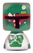 PaxToy.com - Blokhedz 15 Boba Fett из Continente: Star Wars Force Attax Bustz