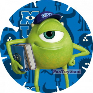 PaxToy.com - 15 - MIKE WAZOWSKI (MONSTERS UNIVERSITY) из Billa: Super Flizz 1