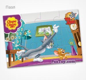 PaxToy.com - 15 Неуловимый мышонок (Пазл) из Choco Balls: Том и Джерри