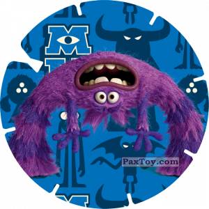 PaxToy.com - 16 - ART (MONSTERS UNIVERSITY) из Billa: Super Flizz 1