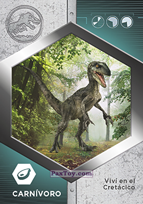 PaxToy.com - 16 Raptor - Delta из Supermercados DIA: Jurassic World - Cards