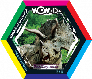 PaxToy.com - 16 Triceratops (Сторна-back) из Carrefour: Jurassic World