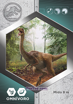 PaxToy.com - 20 Gallimimus из Supermercados DIA: Jurassic World - Cards