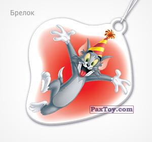 PaxToy.com - 20 Том в колпаке (Брелок) из Choco Balls: Том и Джерри