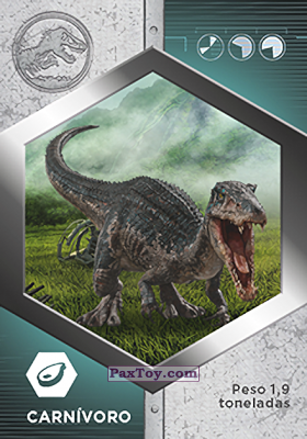 PaxToy.com - 21 Baryonyx из Supermercados DIA: Jurassic World - Cards