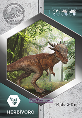 PaxToy.com - 23 Stygimoloch из Supermercados DIA: Jurassic World - Cards