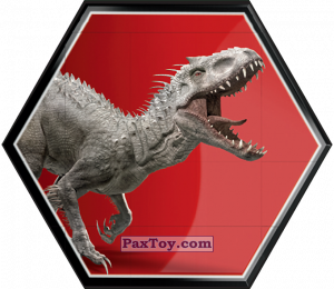 PaxToy.com - 24 Indominus Rex из Carrefour: Jurassic World