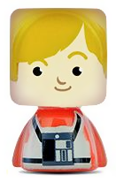 PaxToy.com - 24 Luke Skywalker из Continente: Star Wars Force Attax Bustz