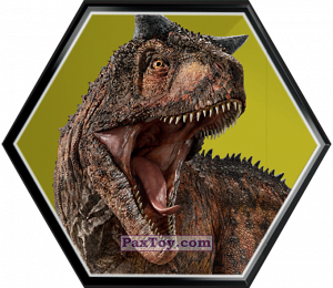 PaxToy.com - 26 Carnotaurus из Carrefour: Jurassic World