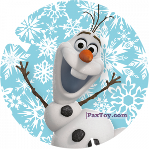 PaxToy.com - 27 - OLAF (FROZEN) из Billa: Super Flizz 1