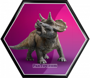 PaxToy.com - 27 Pui de Triceratops из Carrefour: Jurassic World